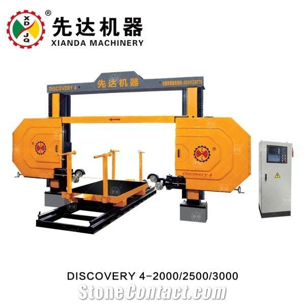 CNC WIRE SAW PROFILING MACHINE DISCOVERY 4-2000/2500/3000