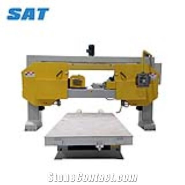 Thin slabs cutting machine for marble