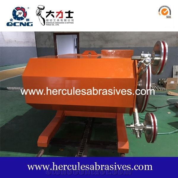 QCSJ-37 quarry wire saw machine for quarry