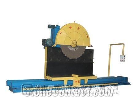 Super-thin slab composite panel splitting machine