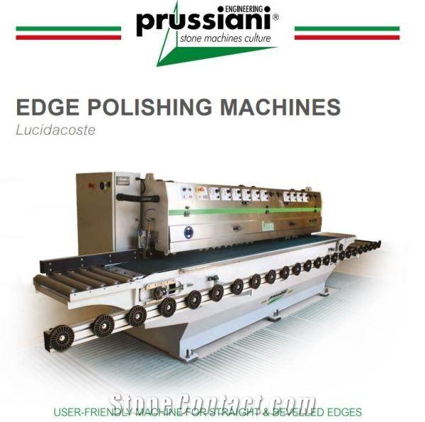 LUCE edge polishing machine