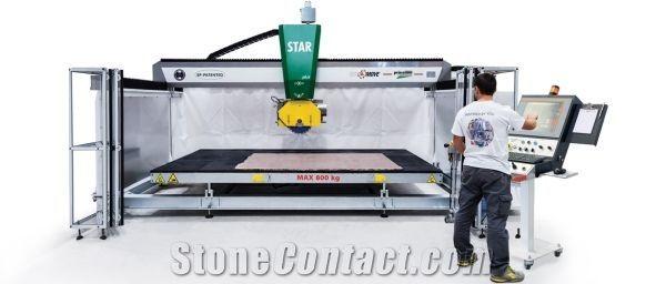 Star Plus Bridge saw cutting machine for marble-granite