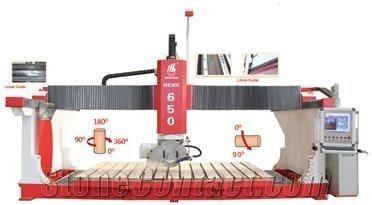CNC Bridge Stone Cutting and Milling Machine