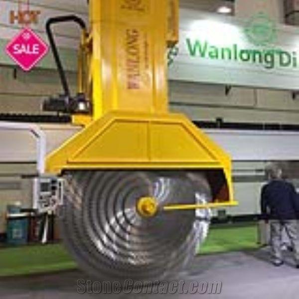 QSQ2500B Pillar System Multidisc Granite Block Cutting Machi