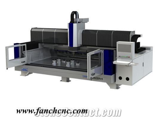 Kitchen Countertop Grabite ATC Stone CNC Machining Center