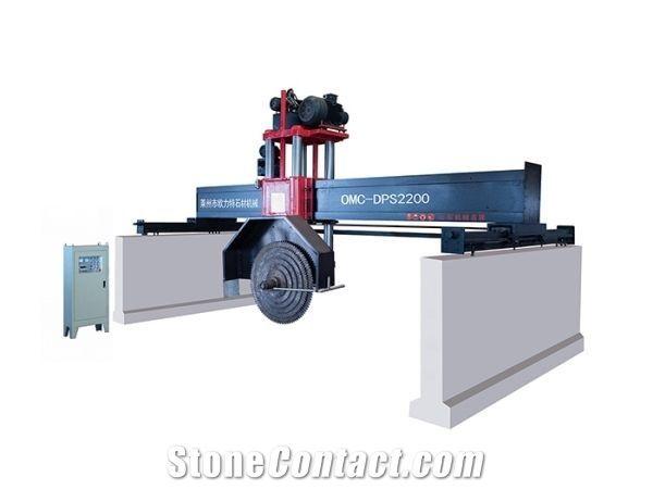 OMC-DPS bridge type stone cutter with 4 pillars