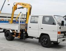 Mini Truck Mounted Half Cab Van Crane