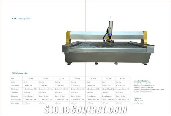 waterjet cutting machine 3axle /5axle