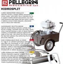 HYDROSPLIT HS-230 Hydraulic rock splitting cylinders