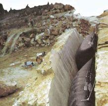 Pneumatic Tipping Cushion Quarry Air Pushing Bag