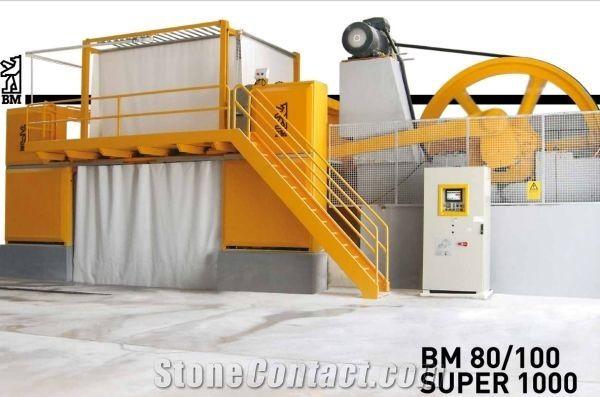BM 80/100 Super 1000 closed frame gang saw