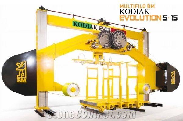 Kodiak 5 Evolution Multiwire machine for Marble Blocks