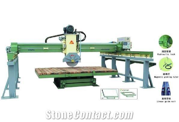 Infrared bridge automatic cutting machine with 4-column