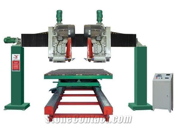 Model STQ2000 double-blade cutting machine