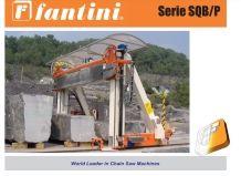 SQB/P/E Beam Chain Saw Machine