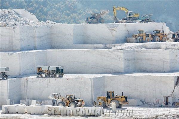 Pirgon White Marble Quarry Stonecontact Com