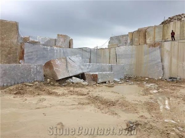 Guangxi White marble quarry