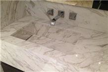 Buy White Marble Basin