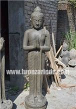 Buy Black Basalt Standing Buddha Sculpture