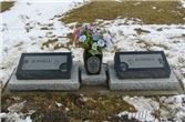 Buy Double Slated Pillow Grave Markers