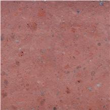Cherry Red Tuff Stone