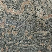 China Multicolored Red Granite