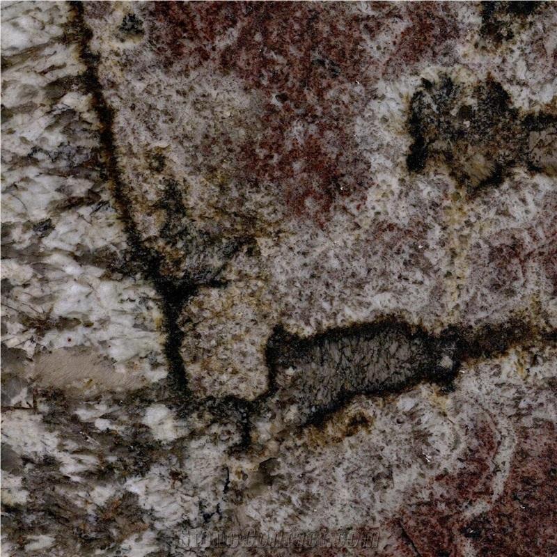 Chocolate Bordeaux Granite