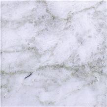 Cloudy White Marble