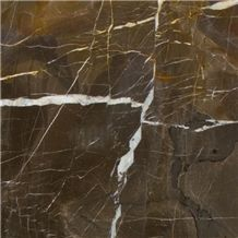 Coffee Gold Brown Marble