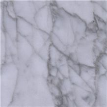 Fine Lines Snow White Marble