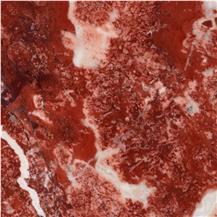 Fleur Rouge Marble