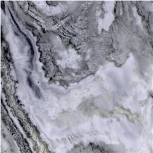 Frozen White Marble
