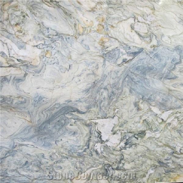 Fusion Light Blue Quartzite - Blue Quartzite - StoneContact com