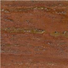 Kalzard Red Travertine