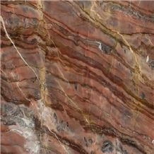 Olive Red Marble