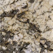 Phantom Golden Flower Granite