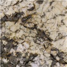 Phantom Golden Flower Granite
