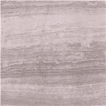 White Wood Grain Marble