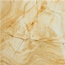 Yellow Wooden Marble