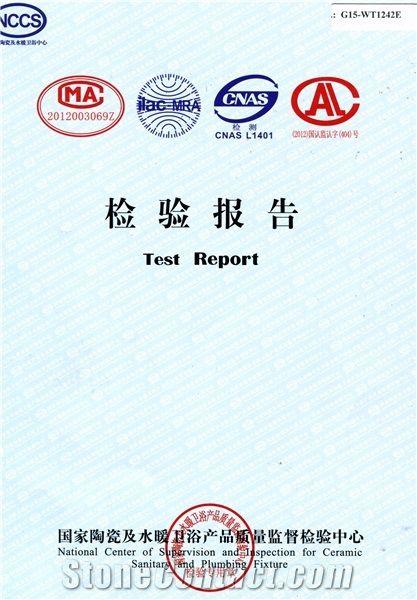 Quality Certificate for Porcelain Tile