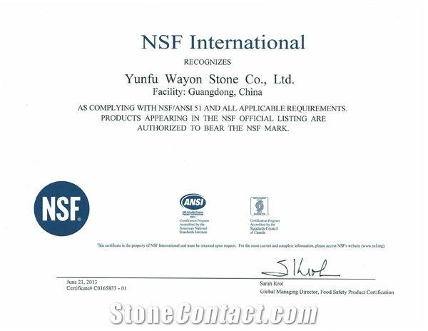 NSF/ANSI 51