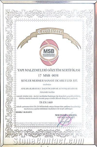 MSB INTERNATIONAL CERTIFICATION