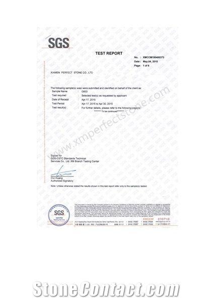 G603 SGS Test Port
