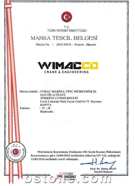 Wimacco Trade Mark