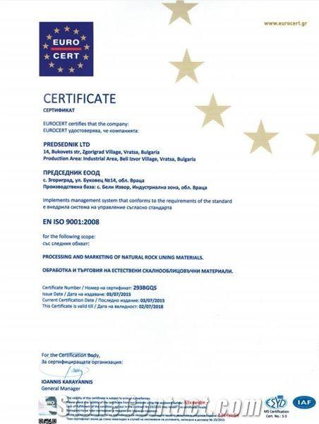 EN ISO 9001-2008