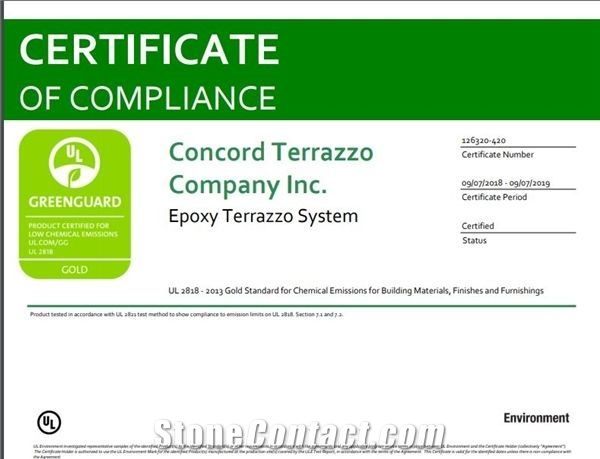 Certificate of Compliance #126320-410