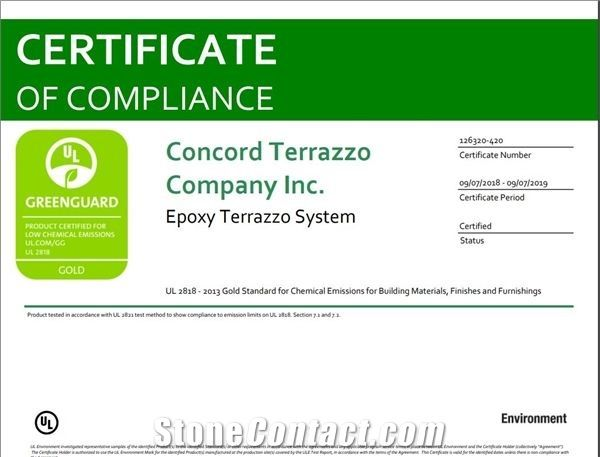 Certificate of Compliance #126320-420